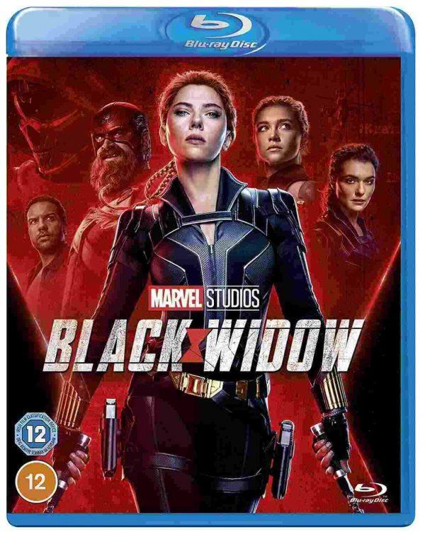 black widow 3D bluray