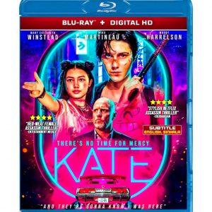 Kate (Blu-ray 2021) Region free !!!