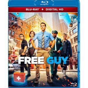Free Guy (Blu-ray 2021) Region free !!!