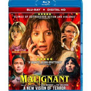 Malignant (Blu-ray 2021) Region free !!!