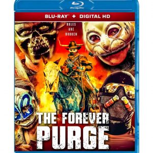 The Forever Purge (Blu-ray 2021) Region free !!!