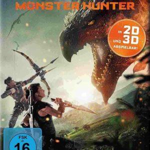 Monster Hunter (3D Blu-ray 2020) Region free !!!